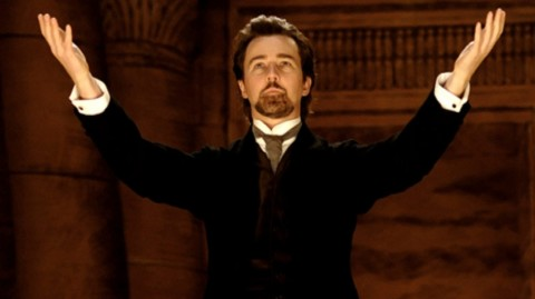 "James David Parker is ""Eisenheim"" from the film ""The Illusionist"""
